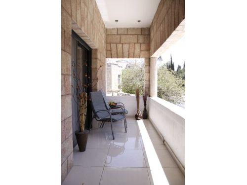 Emek Refaim Balcony