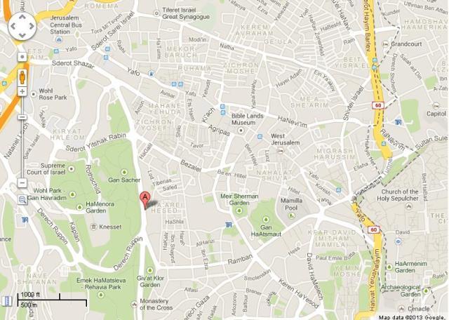 Meggido Map